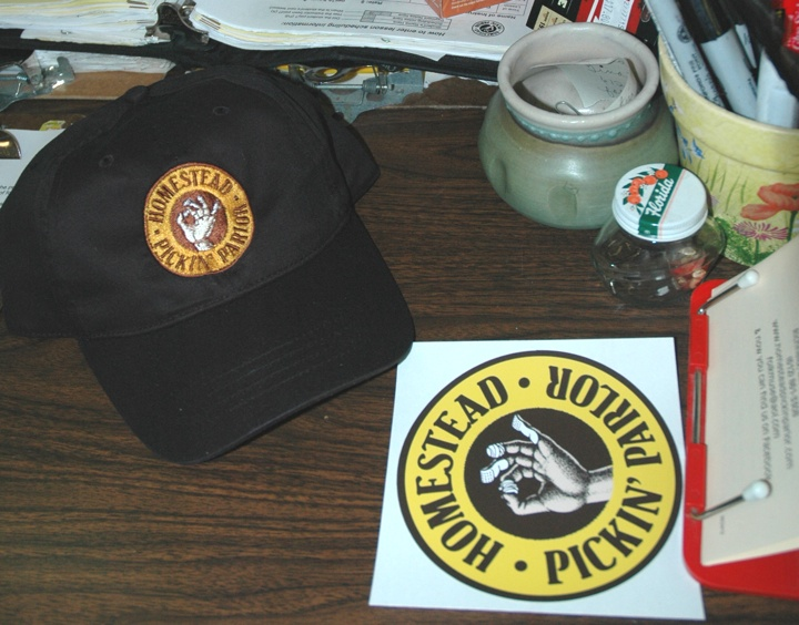 Homestead Hat and Sticker